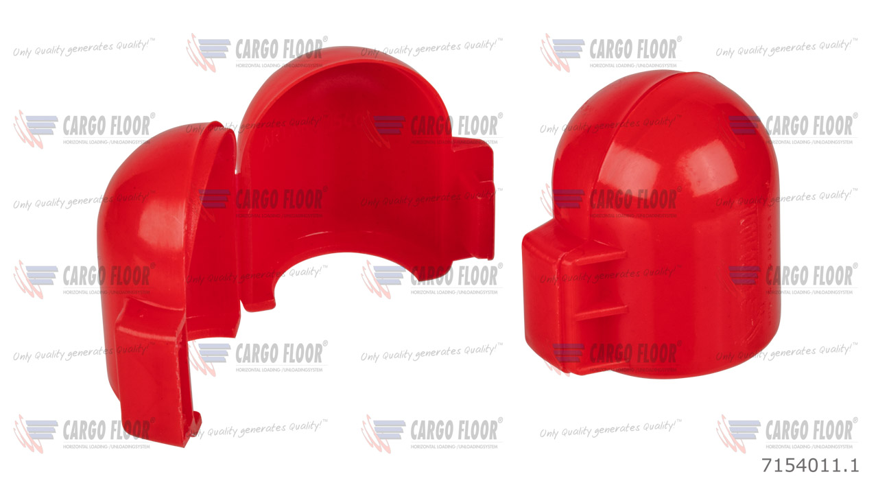Seal cap for pressure safety valve (red) - spare part