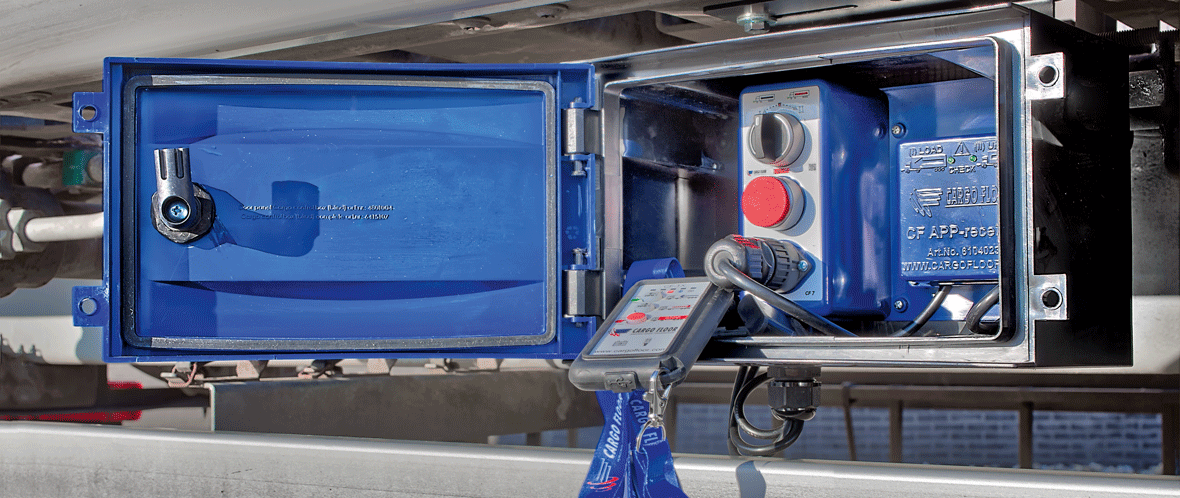 Cargo Floor bediening besturing remote control
