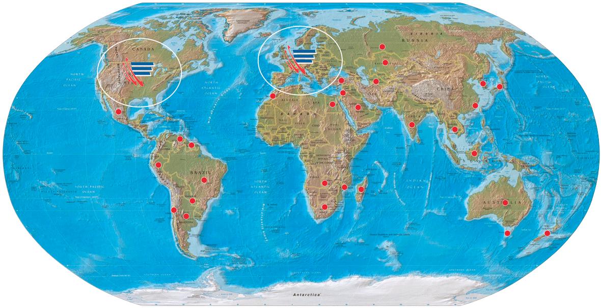 Cargo Floor wereldbol