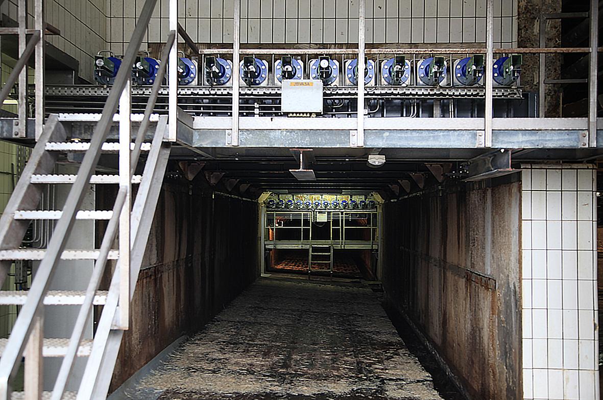 Cargo Floor moving floor cylinder profile