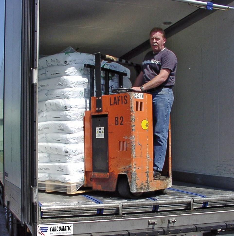 CargoMatic snel laden lossen