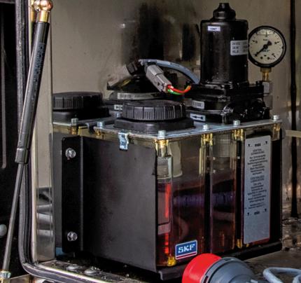 CargoMatic oliesmering
